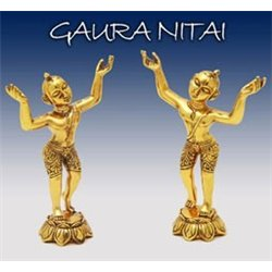 Gaura Nitai Deities Golden