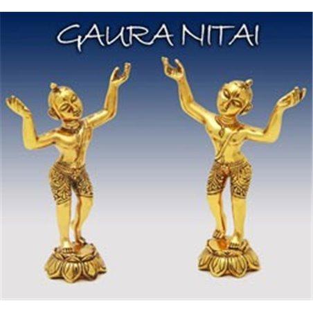 Gaura Nitai Deities Golden