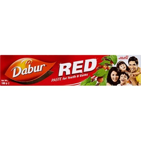 DABUR RED TOOTH PASTE 100G