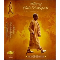 FOLLOWING SRILA PRABHUPADA - SET OF 11 DVD'S