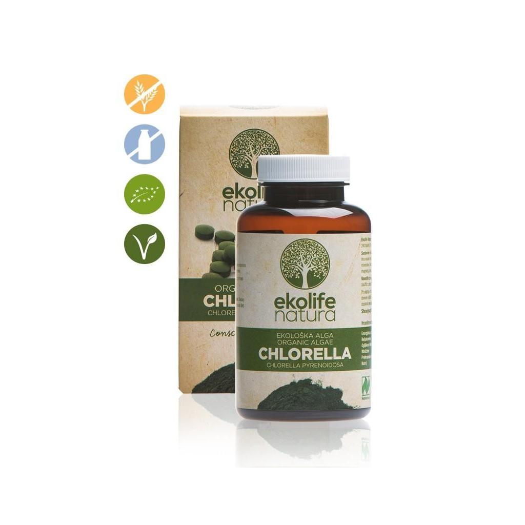 Ekološka alga Chlorella 240 tbl