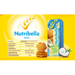 Piškoti Nutribella kokos -...