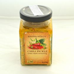 chilli pickle marinada čili pekoča gorčična indijska vložena