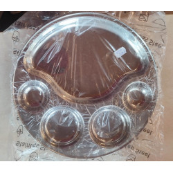 Kovinski okrogli krožnik